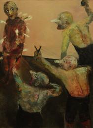 Angel, 130х97, oil on canvas, Paris, 2013