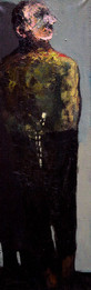 Beads (Tespey), 40x120, oil on canvas