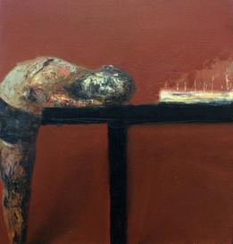 Birth Day N2, 95x90, oil on canvas