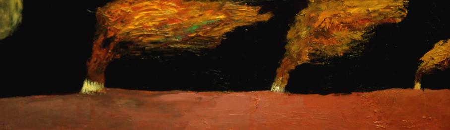 Trees, 100х130, oil on canvas