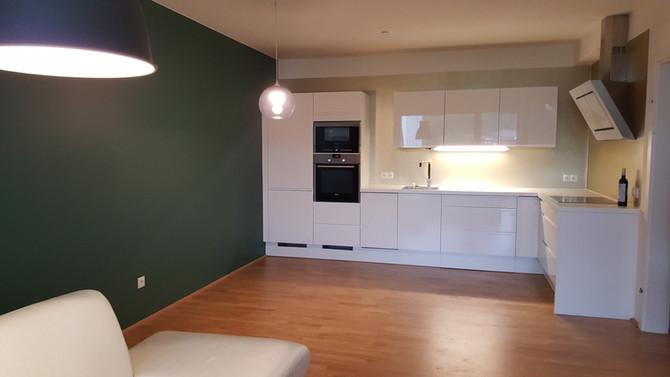 Küche / Wohnbereich