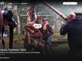 """""""Halvdan Viking"""" i medierna"""