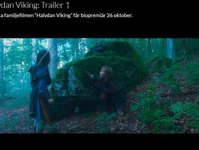 """Se trailern till """"Halvdan Viking"""""""