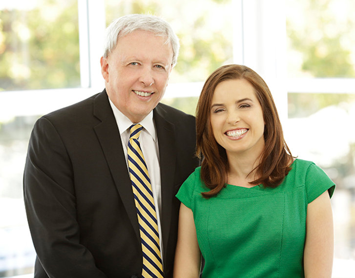 Associate Professor Christopher Perry and Dr Emily Perry
