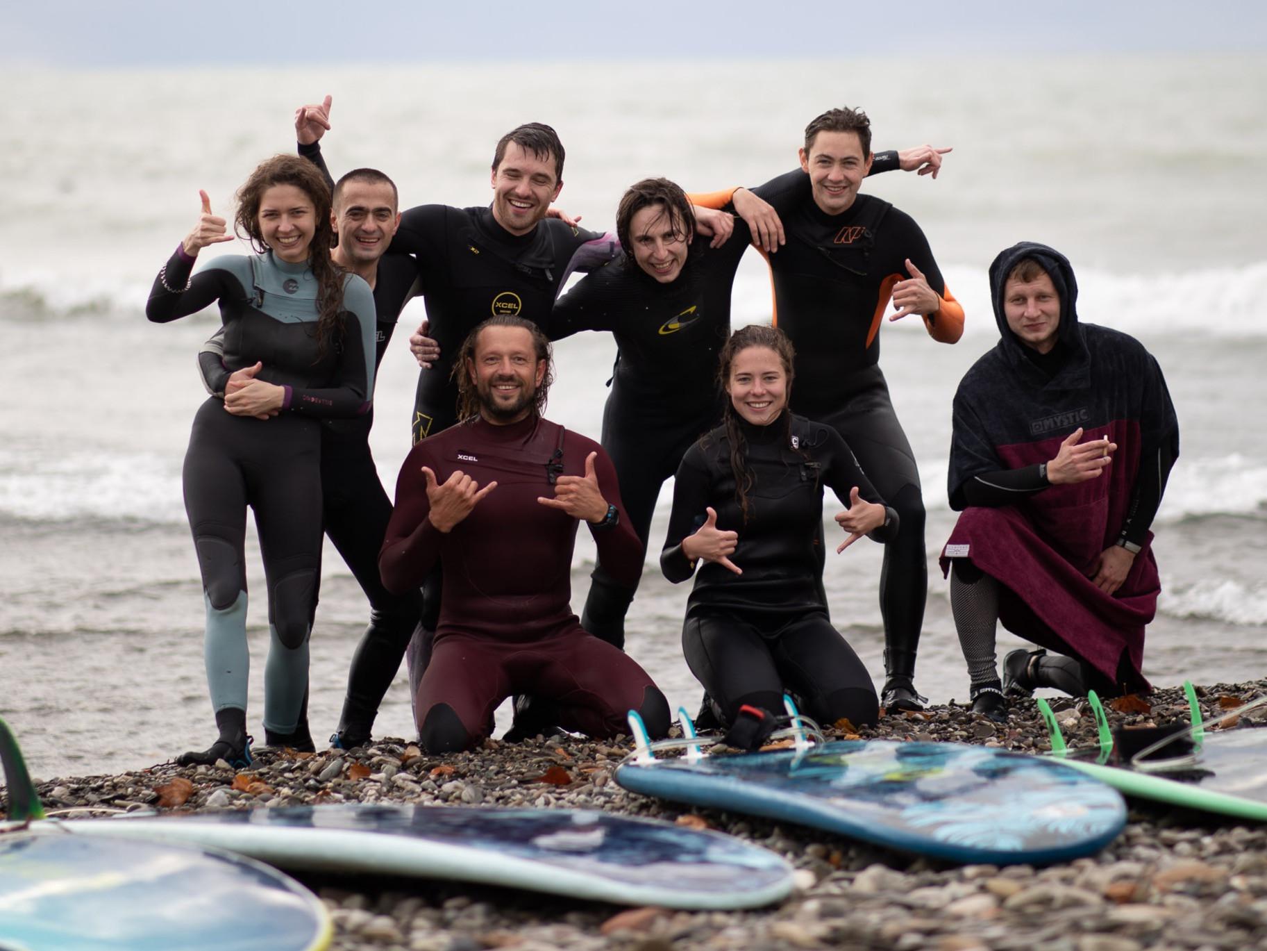 Базовый курс сёрфинга (сёрфподготовка)
