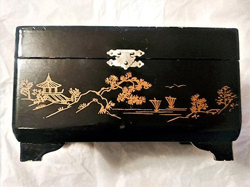 Hand Painted Music Jewelry Box
