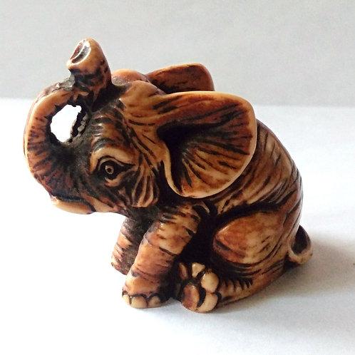 Resin Baby Elephant