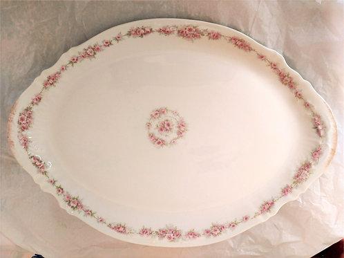 Antique Theodore Haviland China Limoges France Porcelain Serving Platter