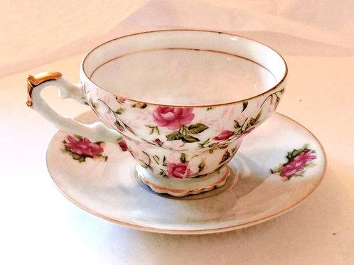 Lefton Tea Cup & Saucer