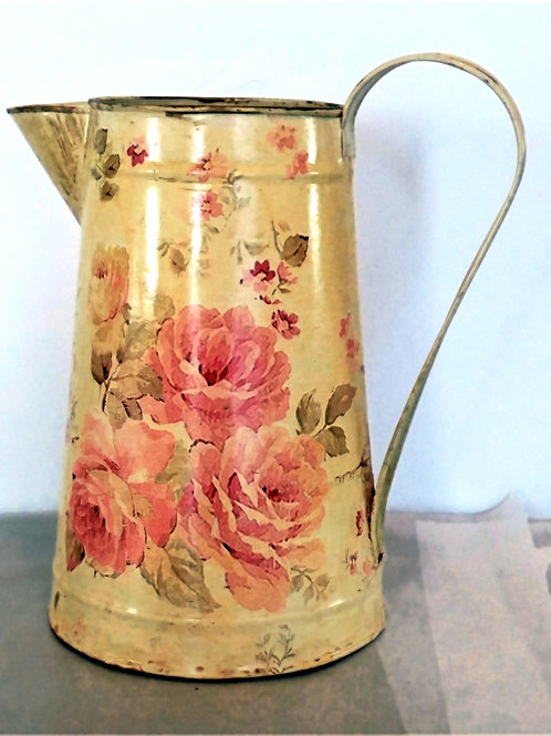 Cabbage Roses Watering Can
