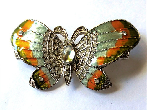 Cloisonne Jelly Belly Butterfly Pin