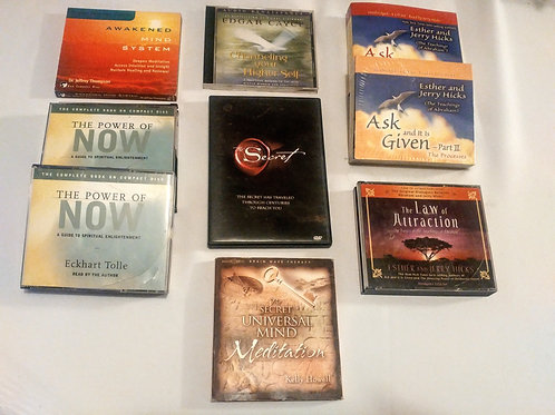 23 CD's Total - From the Guru's of Spiritual Enlightenment