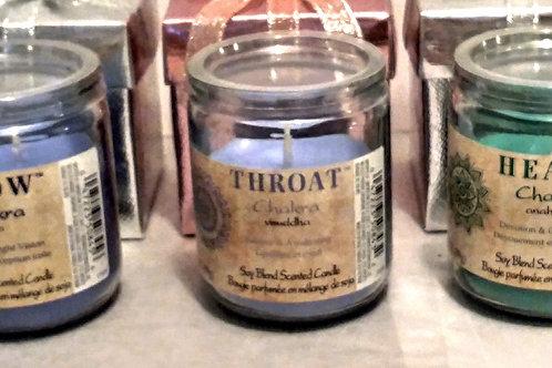 Chakra Candle -Throat