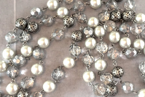 """24"""" Crystal Beaded Necklace"""