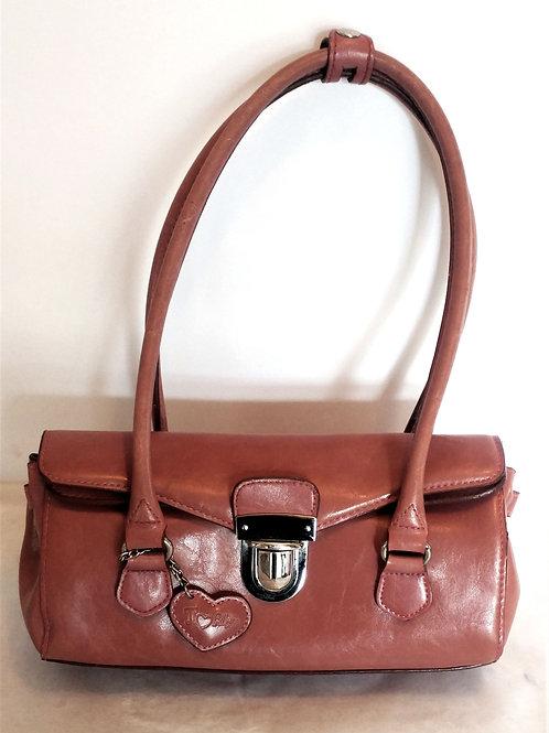 Rina Rich Leather Hobo Handbag