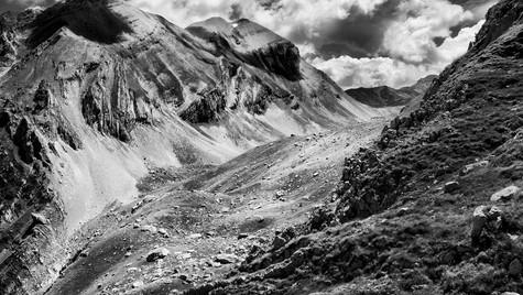 Pizzo Intermesoli e valle del Venacquaro