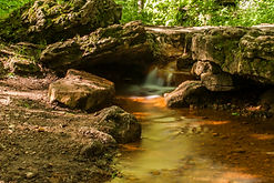 Photograph by Nathan - Glen Helen Yellow Spring Creek