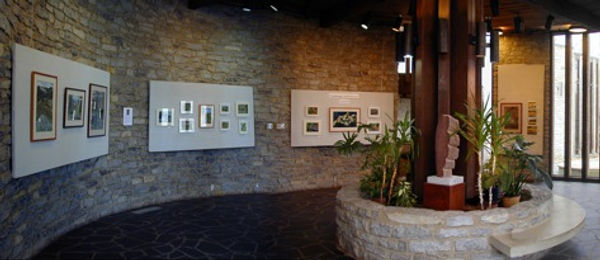 The Atrium Gallery in the Vernet Building | Glen Helen