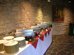Atrium Gallery Hall Dining Set Up