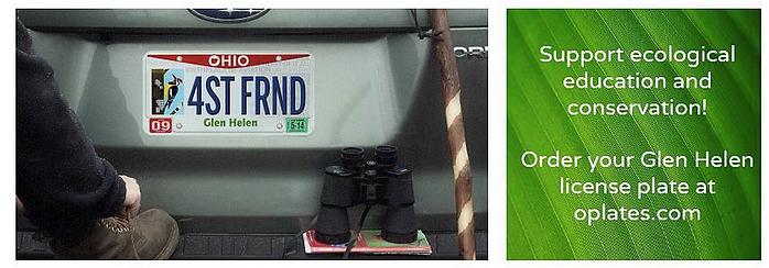 Glen Helen Specialty License Plate Banner