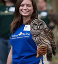 Access to the Raptor Center & Outdoor Education Center