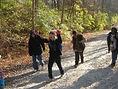 Children hiking in the Glen