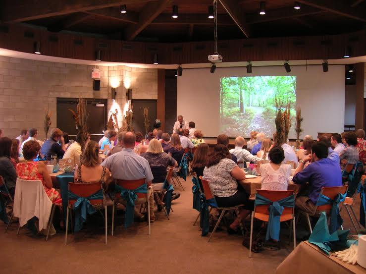 Auditorium Meeting with Presentation