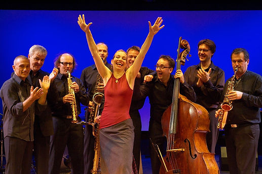Nina Corti 2007 mit Sax Espanol in Zürich