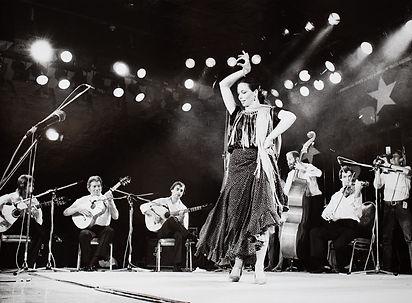 Nina Corti 1985 am Jazz Festival Montreux Foto: Keystone,