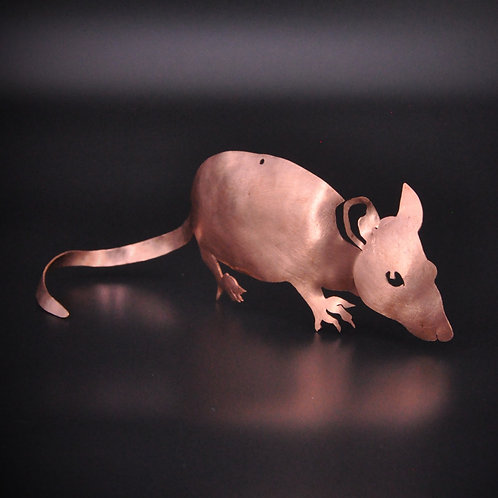 Spy Mouse Sculpture