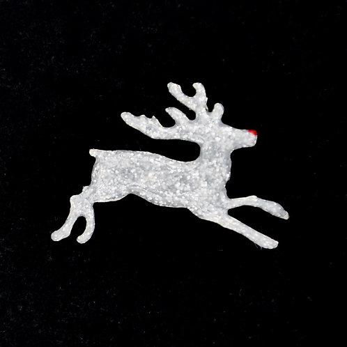 Rudolph Reindeer Tie Tack Pin