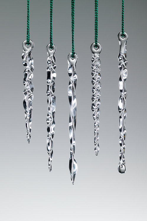 Icicles Ornaments