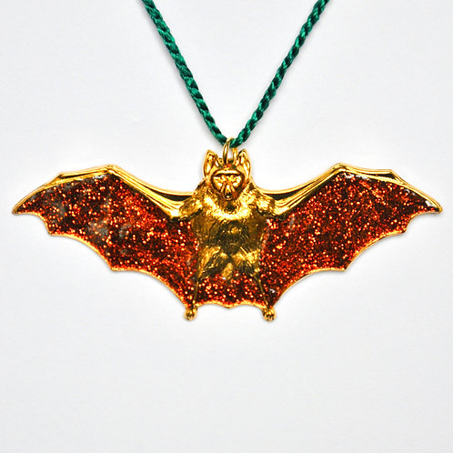 Brown Bat Ornament