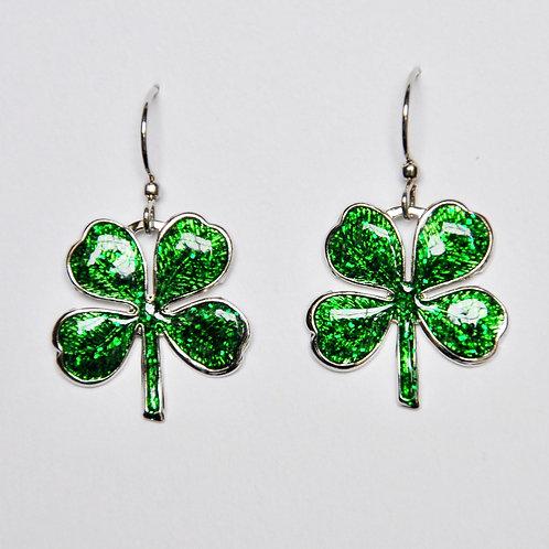 4 Leaf Clover Earring