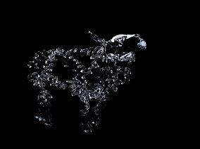 lamb sculpture