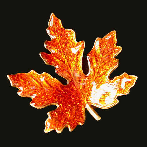 Maple Leaf Tie Tack Pin