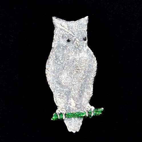 Owl Tie Tack Pin