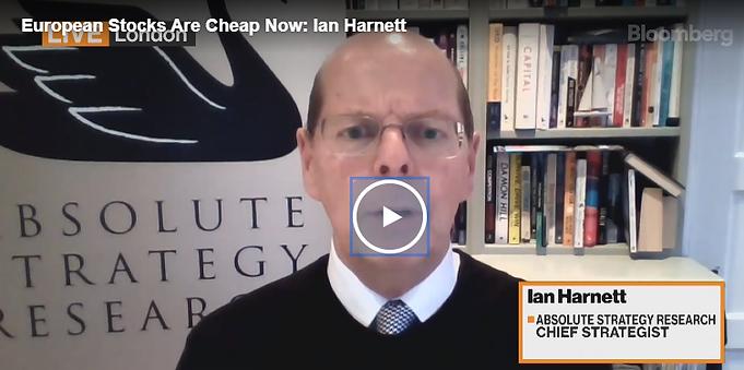 Ian Harnett on Bloomberg TV