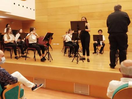 Gran concierto de la Banda Juvenil de Los Salerosos