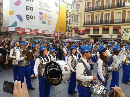 Fitur 2016: El centro de Madrid acoge un gran Desfile Provincial con las fiestas más representativas