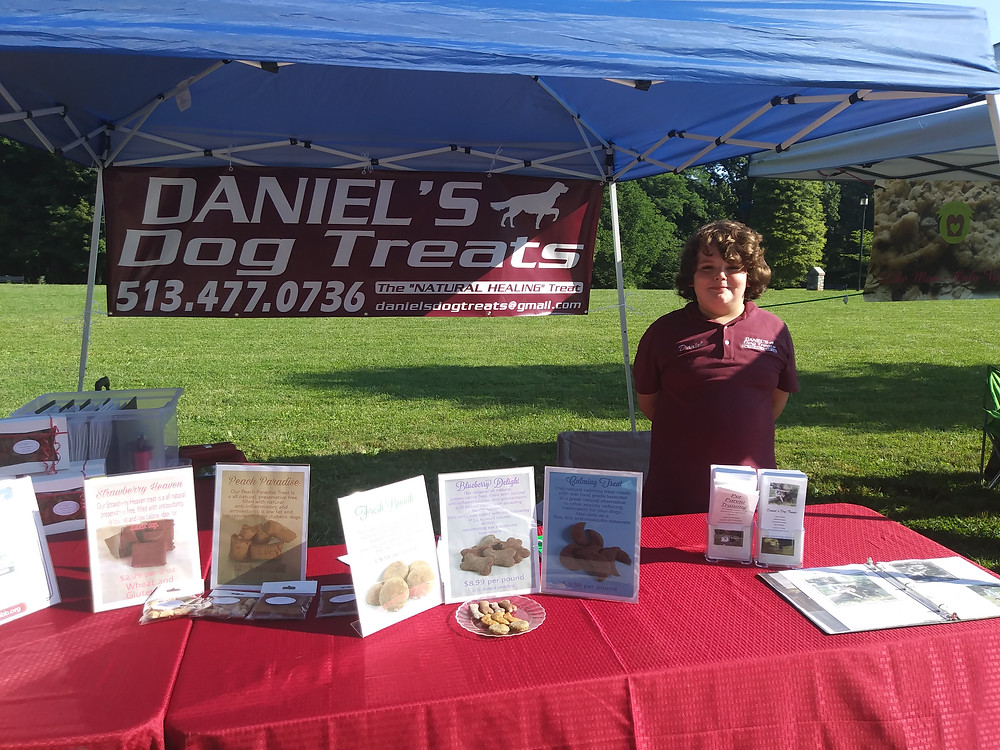 Daniel at the Mt. Washington Stanbery Park Farmers market