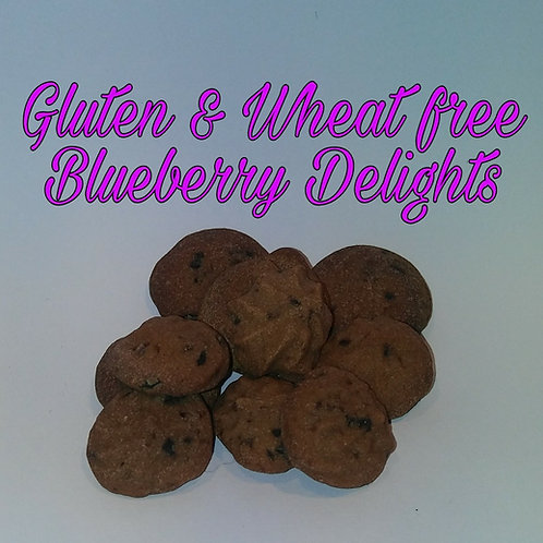 Gluten and Wheat Free Blueberry Delights