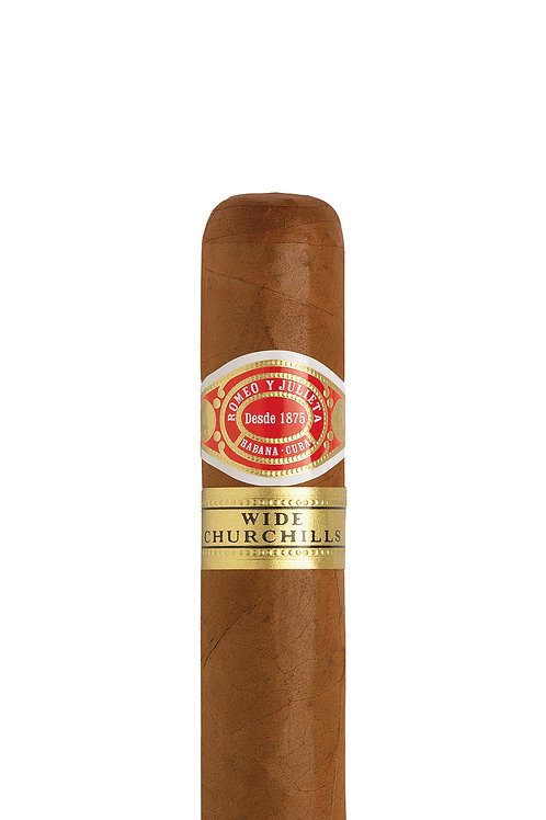 Romeo y Julieta - Wide Churchill  effortless draw of a smooth blend of smoke through this substantial cigar. Robusto House st