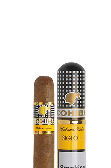 Cohiba - Siglo I - Tubed cigar Perfect in the evening or sitting in the garden on a nice summer evening. Robusto House store.