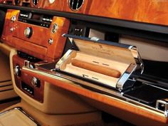 Everyone should have a glove compartment for cigars like this
