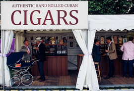 Robusto House Ltd Cigar Stand at Goodwood Revival Events