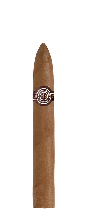 Montecristo - No. 2 This is an iconic 'torpedo' shaped cigar called a Piramide size available to purchase from Robuso House.
