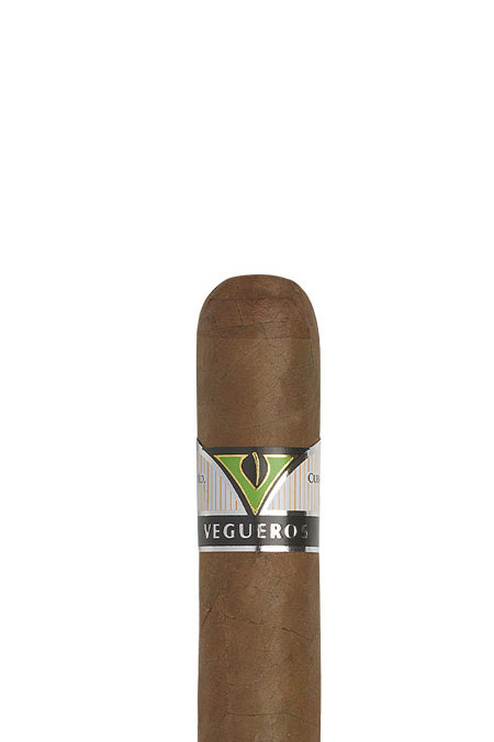 Vegueros Entretiempos This stout cigar delivers the intense & unique Vegueros taste in a format famously known. Robusto House