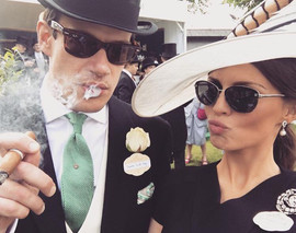 Royal Ascot Event - customers purchasing premium cigars