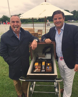 Henley Regatta our Robusto House famous cigar pram
